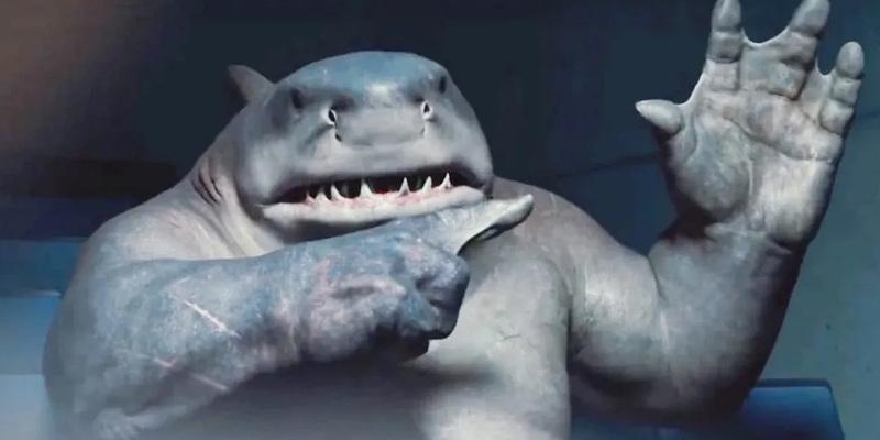 O Esquadrão Suicida | Cena emocionante do Tubarão-Rei foi excluída do filme; descubra como seria