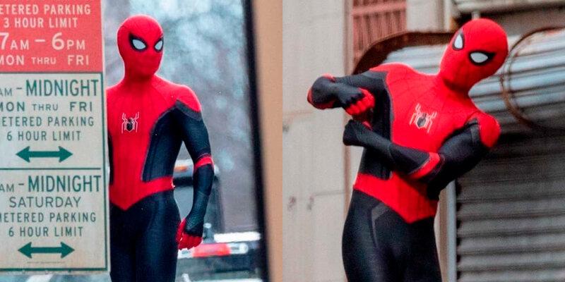 Imagens dos bastidores de Homem-Aranha 3: Mysterio está de volta?