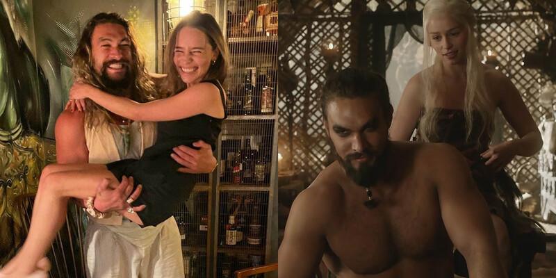 Duna | Jason Momoa dedica cena do filme a Emilia Clarke, parceira de elenco em Game of Thrones
