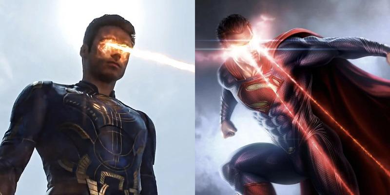 Eternos | Novo vídeo mostra poderes da equipe e revela cena que cita o Superman; veja