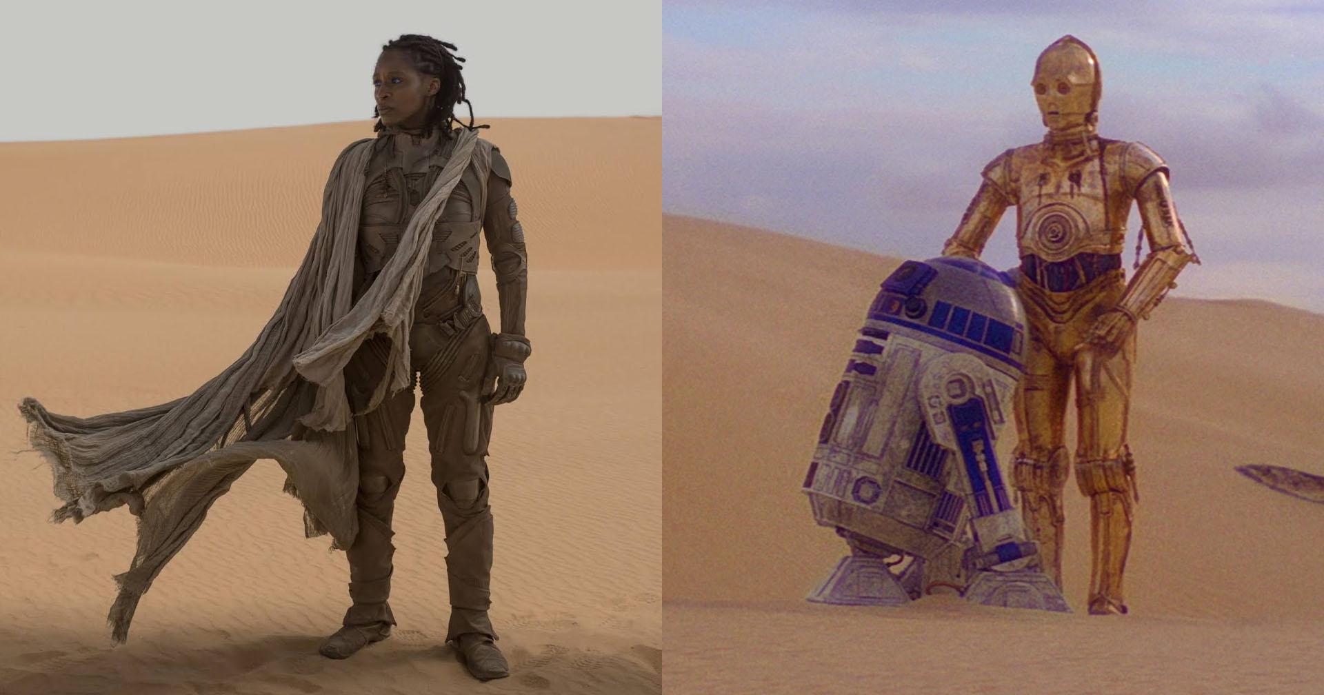 Duna e Star Wars | 5 semelhanças entre o universo de George Lucas e a obra de Frank Herbert