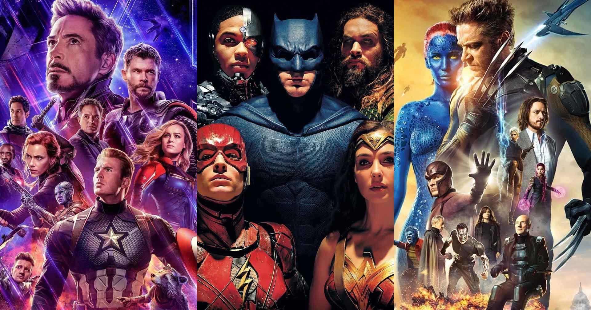 As 10 maiores equipes de super-heróis de todos os tempos