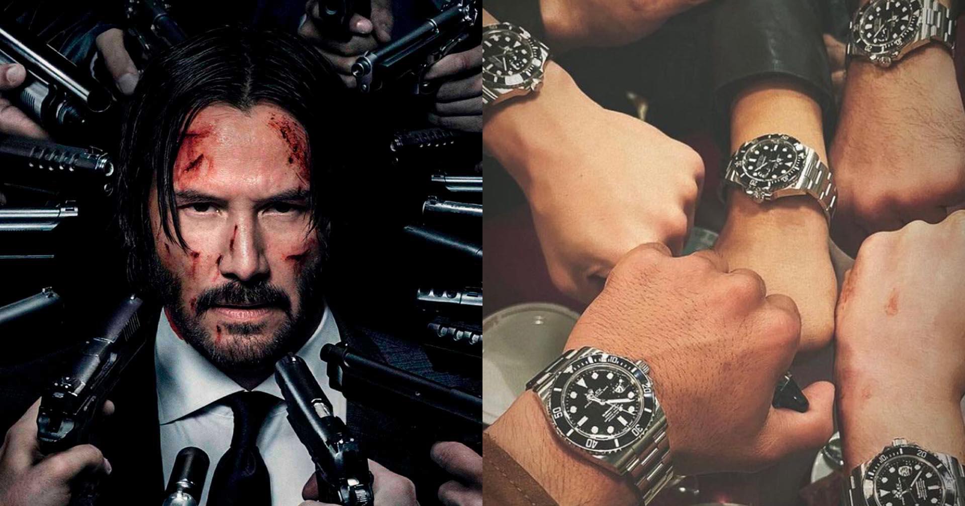 John Wick 4 | Keanu Reeves presenteia dublês com relógios Rolex no valor de 55 mil reais cada