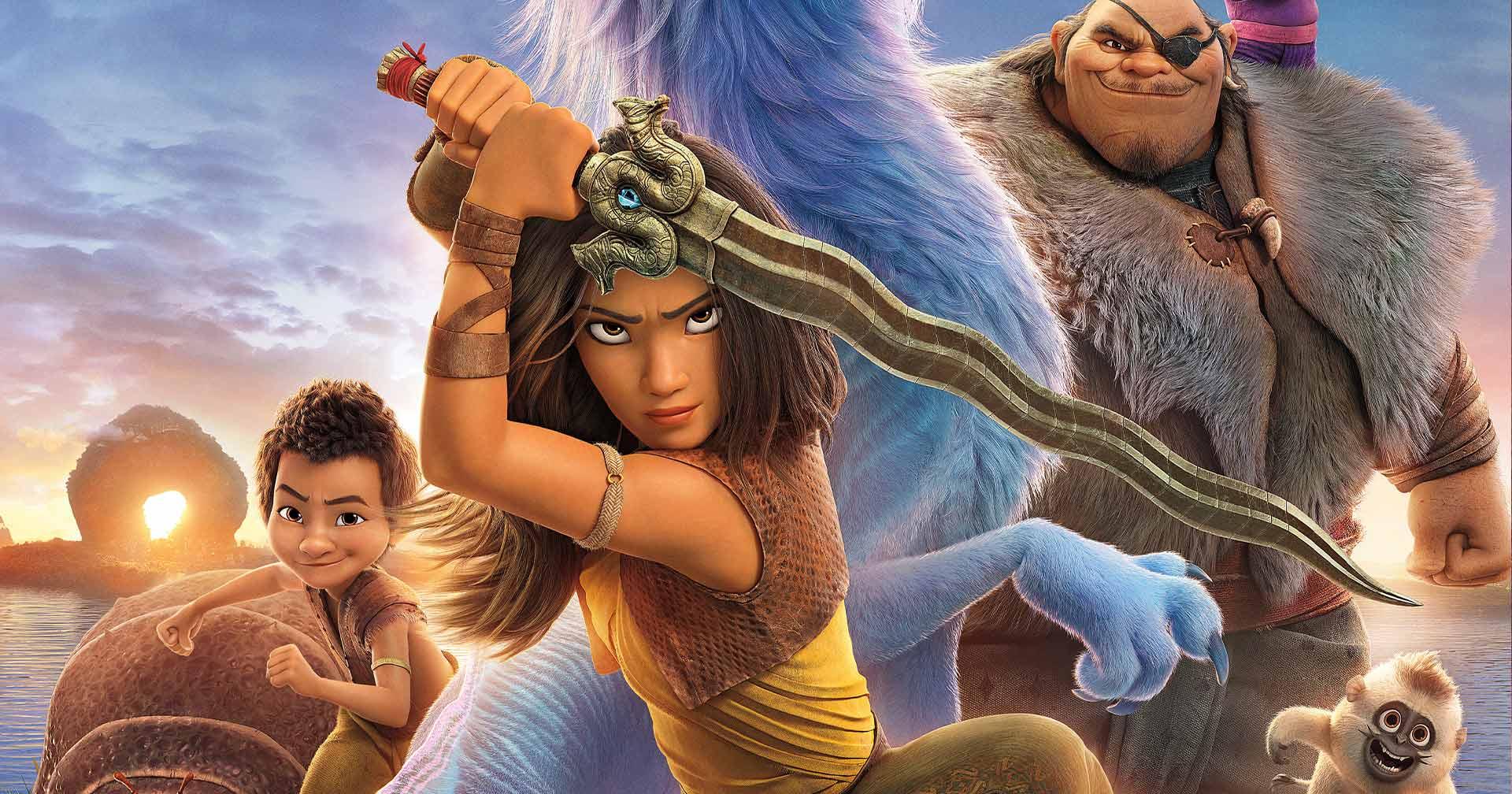 Raya e o Último Dragão | 5 curiosidades sobre o novo filme da Disney