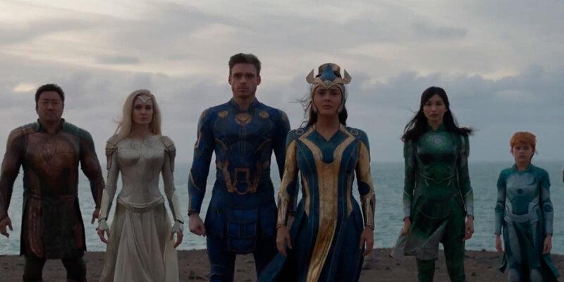 SAIU! Primeiro trailer de Eternos é divulgado pela Marvel; assista!