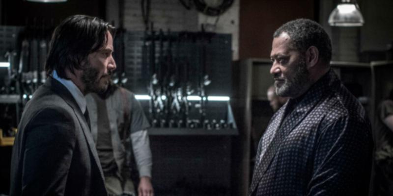 John Wick 4 | Laurence Fishburne confirma participação e deixa escapar possível segredo sobre elenco