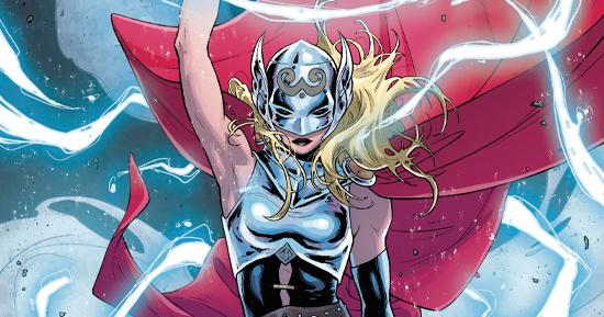 Versão dos quadrinhos da Poderosa Thor