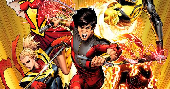 Versão dos quadrinhos de Shang-Chi