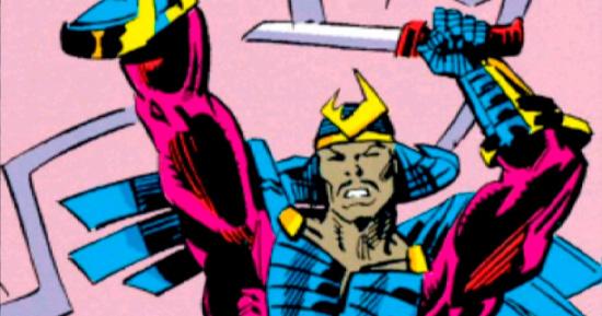Versão dos quadrinhos de Kingo