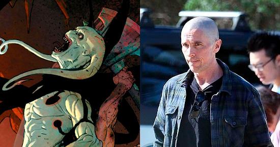 Christian Bale - Comparação do ator com o vilão Gorr, de Thor 4