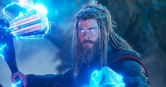 Imagem de Thor no MCU