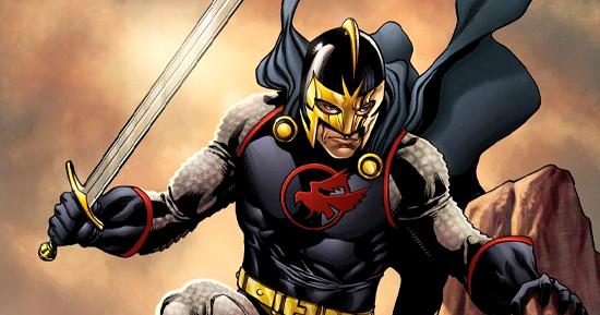 Versão dos quadrinhos do Cavaleiro Negro