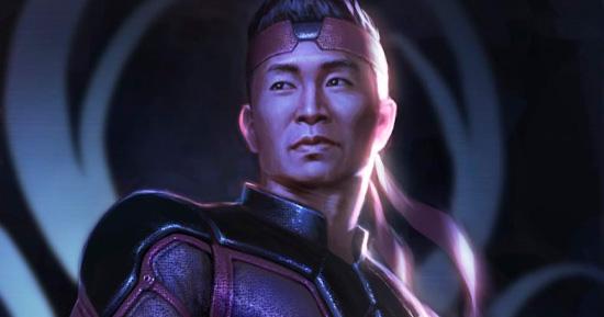 Simu Liu como Shang-Chi