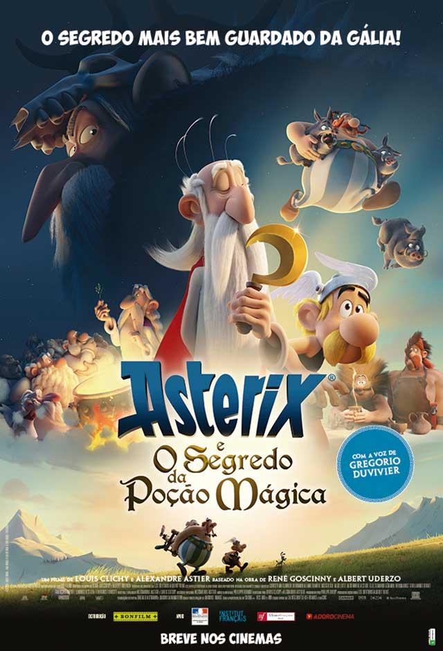 Filme: Asterix e o Segredo da Poção Mágica