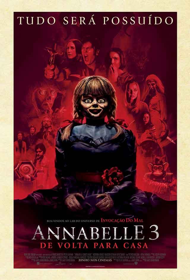 Filme: Annabelle 3 De Volta Para Casa