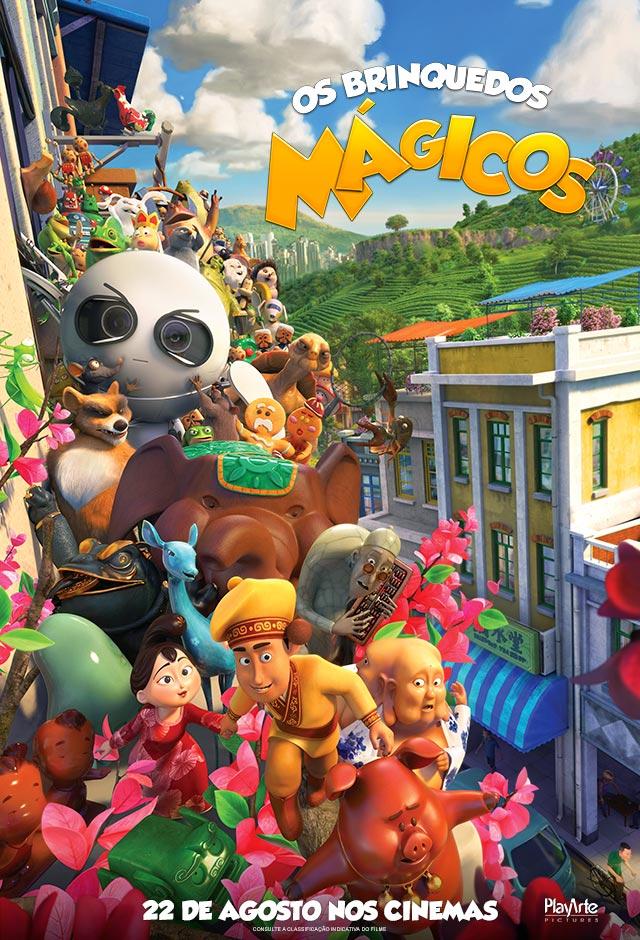 Filme: Os Brinquedos Mágicos