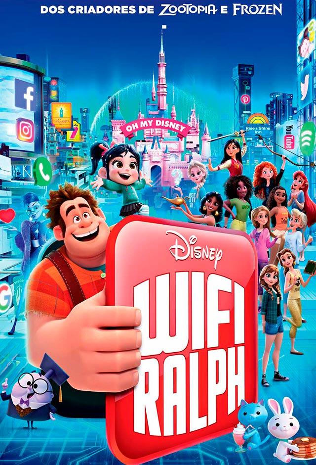 Filme: WiFi Ralph - Quebrando a Internet