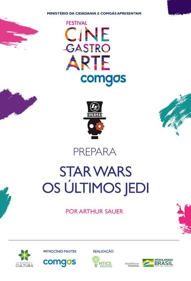 Filme: Le Burguer Prepara Star Wars - Os Últimos Jedi