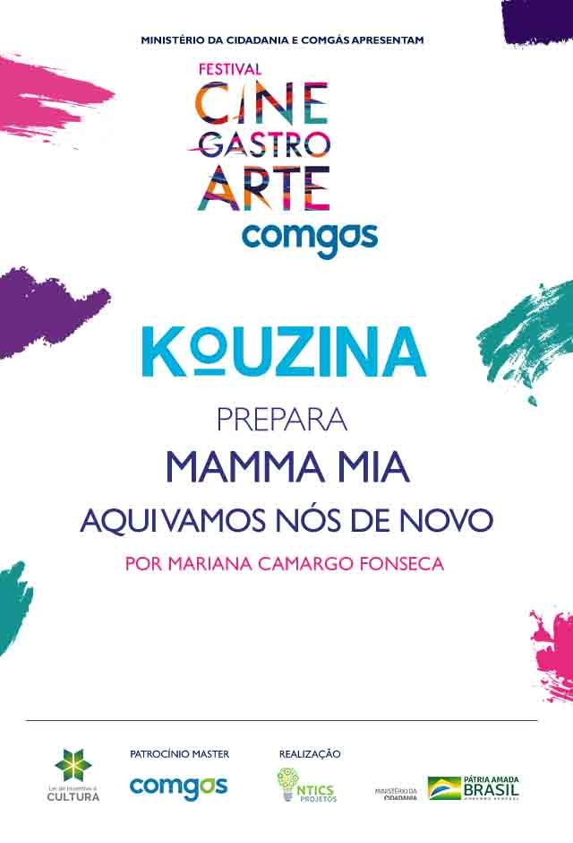 Filme: Kouzina Prepara Mamma Mia - Lá Vamos Nós de Novo