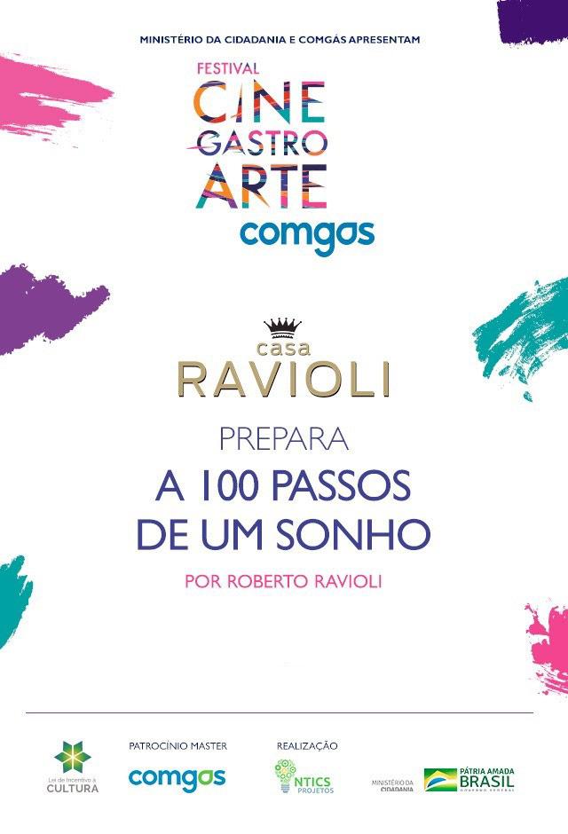 Filme: Casa Ravioli Prepara a 100 Passos de um Sonho