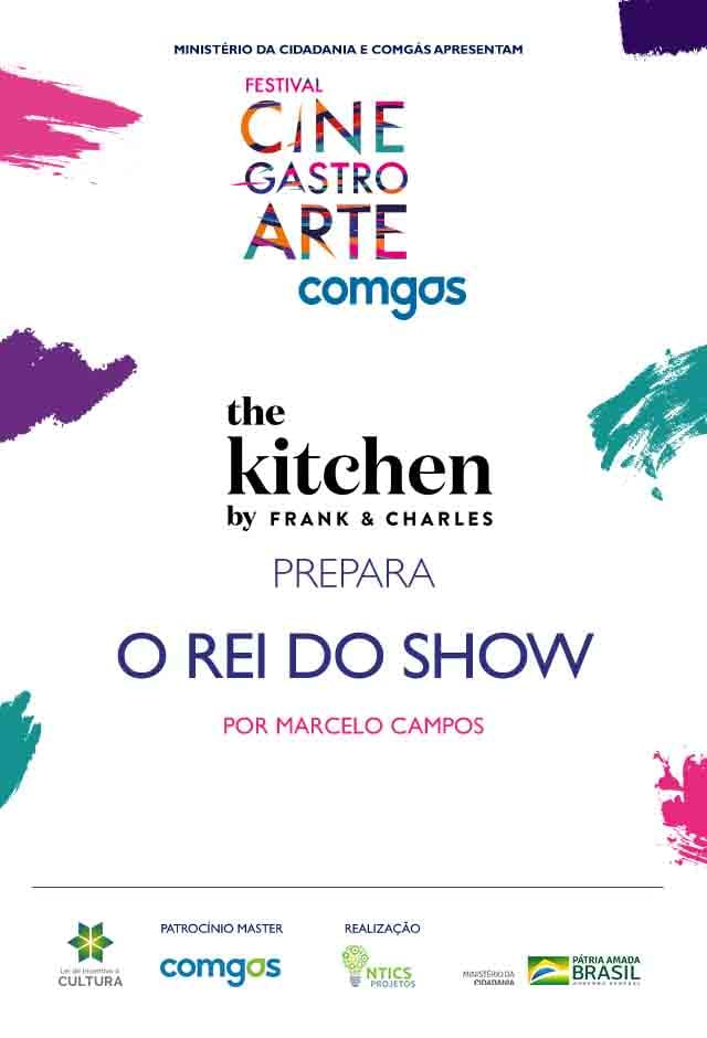 Filme: The Kitchen by Frank & Charles prepara O Rei do Show