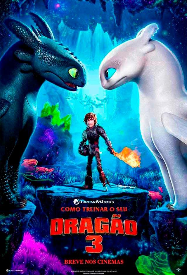 Filme: Como Treinar o Seu Dragão 3