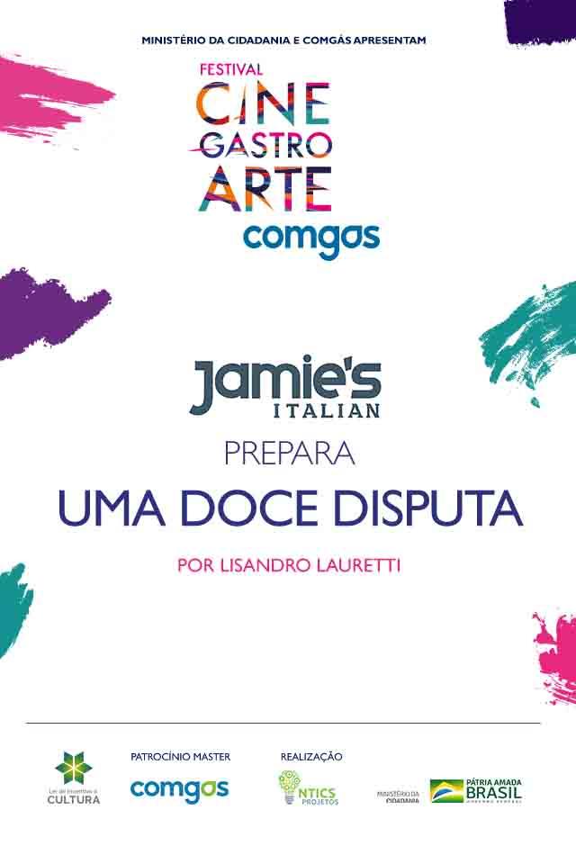 Filme: Jamie's Italian Prepara Uma Doce Disputa