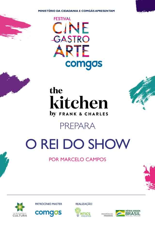 Filme: The Kitchen by Frank & Charles prepara O Rei do Show