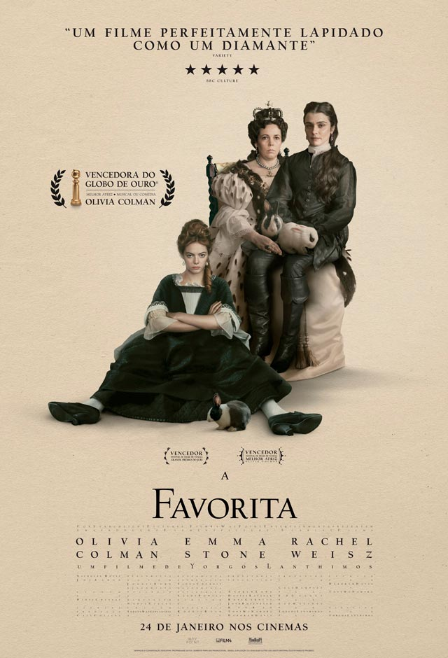 Filme: A Favorita