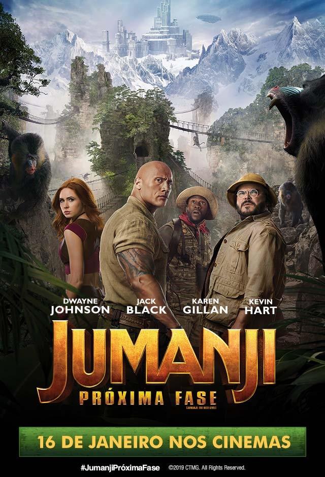 Filme: Jumanji: Próxima Fase