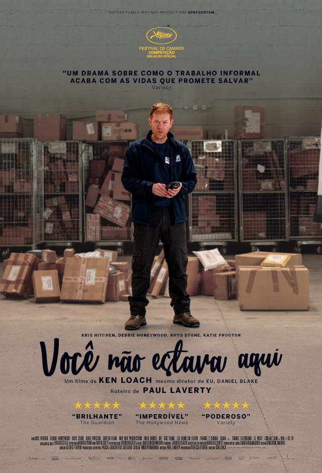 Filme: Você Não Estava Aqui