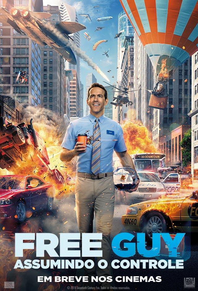 Filme: Free Guy: Assumindo O Controle