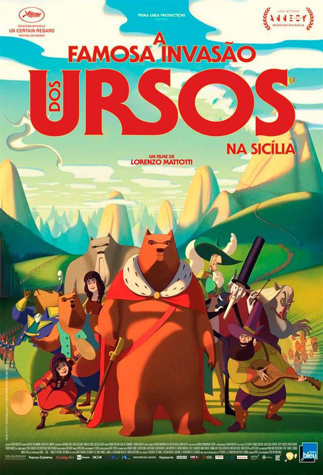 Filme: A famosa invasão dos ursos na Sicília
