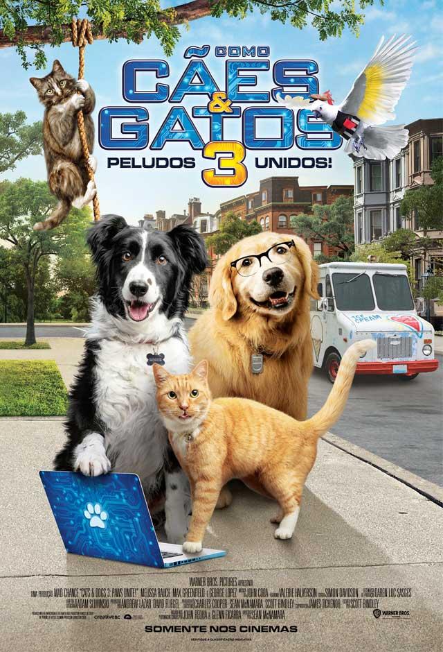 Filme: Como Cães e Gatos 3: Peludos Unidos