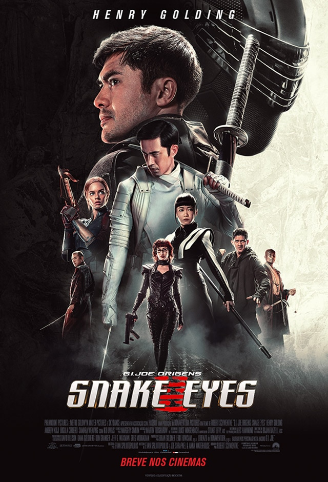 Filme: G.I. Joe Origens: Snake Eyes