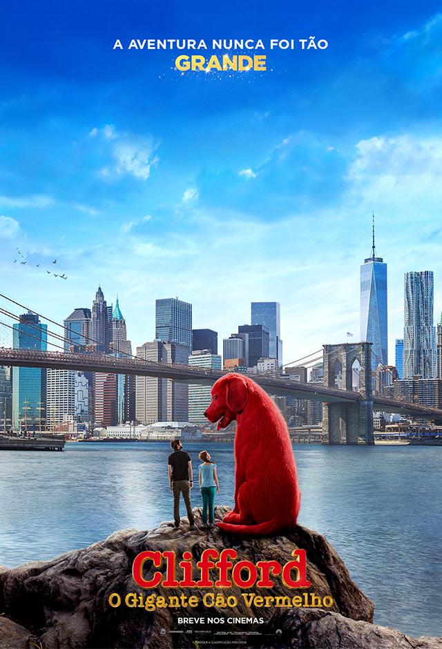 Filme: Clifford – O Gigante Cão Vermelho