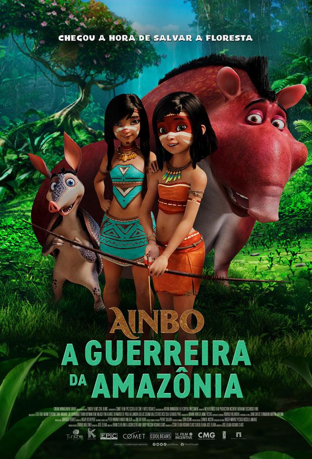 Filme: Ainbo - A Guerreira da Amazônia