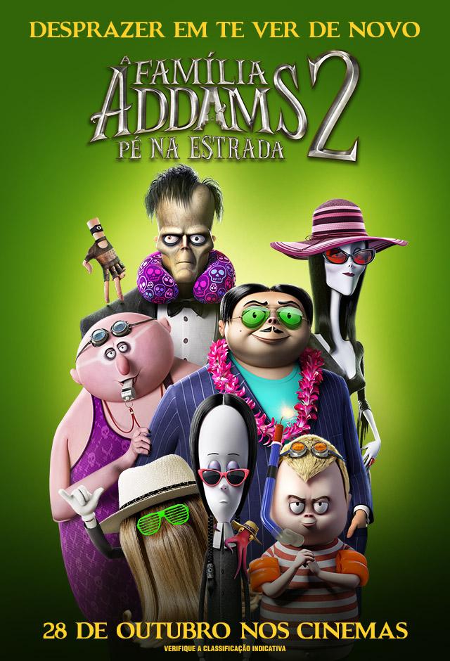 Filme: A Família Addams 2 - Pé Na Estrada