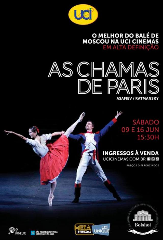 Ballet Bolshoi: As chamas de Paris