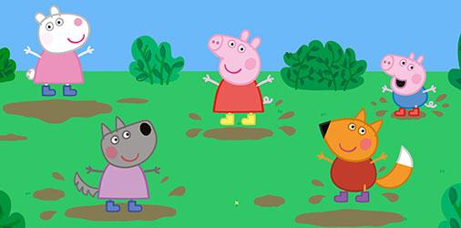 Peppa Pig, as botas de ouro e outras histórias