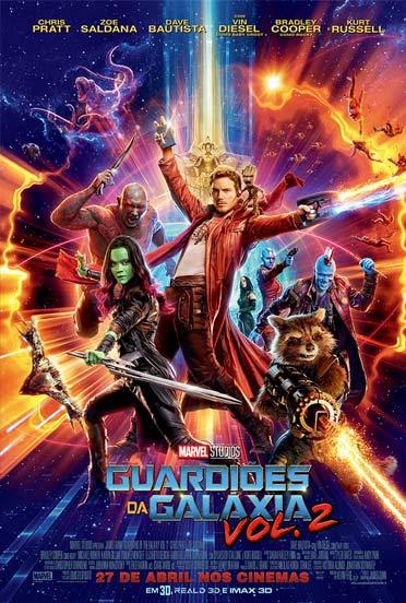 Guardiões da Galáxia vol. 2 3D