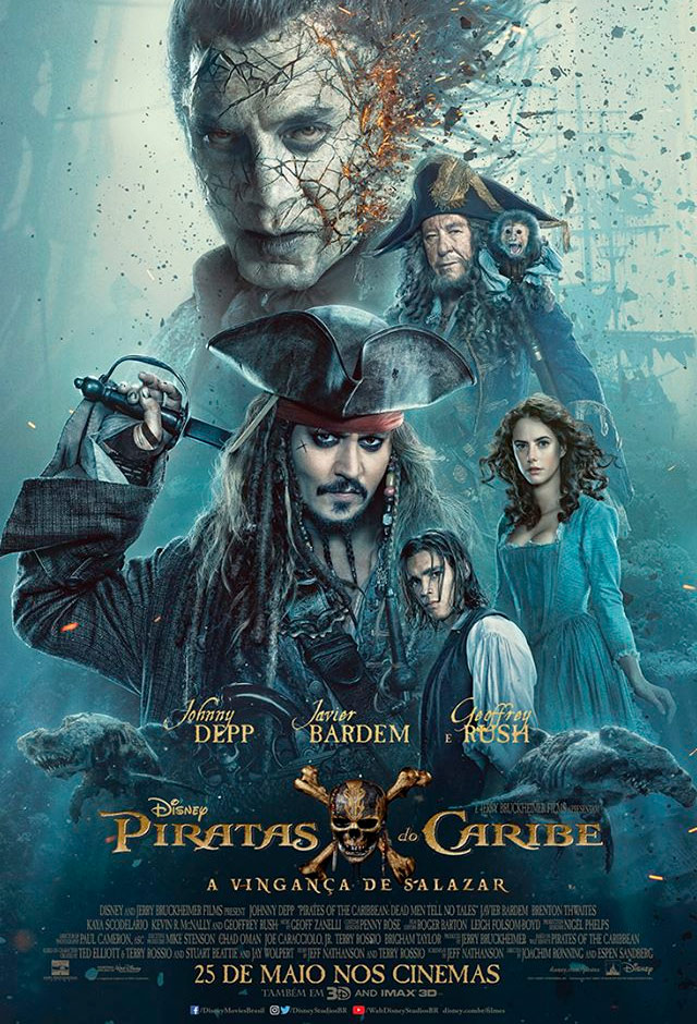 Piratas do Caribe: A Vingança de Salazar 3D