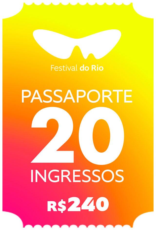 Passaporte Festival do Rio - 20 Ingressos