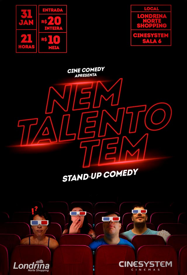 Cinecomedy - Nem Talento Tem