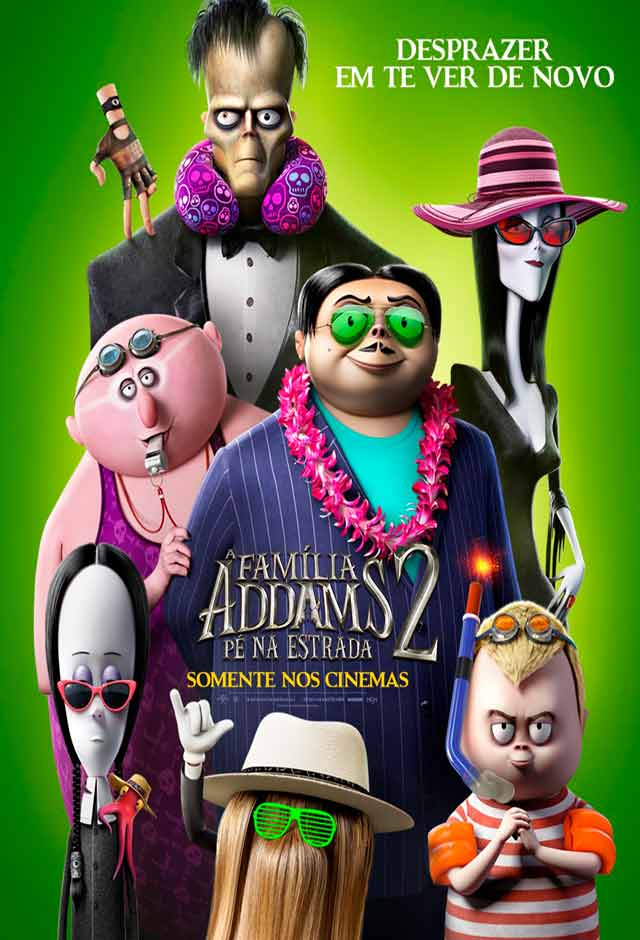 A Família Addams 2 – Pé na Estrada