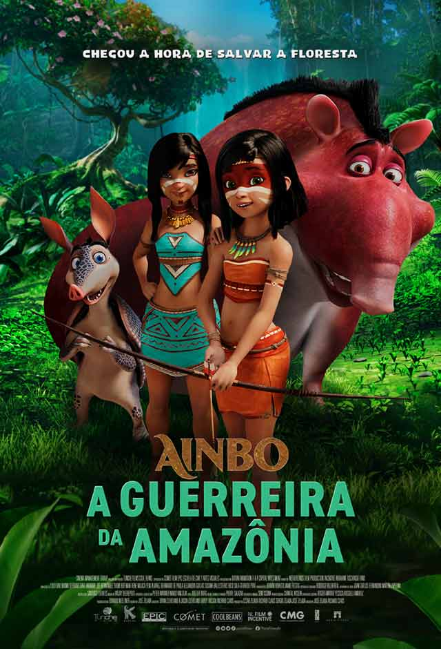 Ainbo - A Guerreira da Amazônia