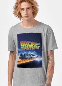 Imagem Camiseta De Volta para o Futuro Delorean