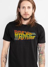 Imagem Camiseta De Volta para o Futuro Logo
