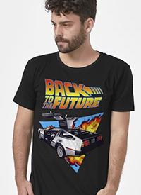 Imagem Camiseta De Volta para o Futuro Delorean Fire