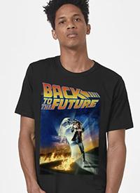 Imagem Camiseta De Volta para o Futuro Pôster